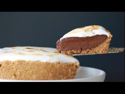 No-Bake S'more Pie - Gemma's Bigger Bolder Baking Ep  127