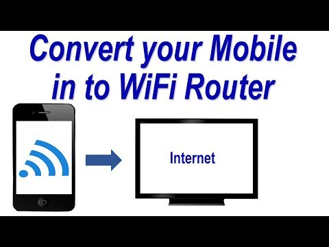 How to Connect your Computer to your Mobile Hotspot (WiFi) ! Convert your Mobile in to WiFi Router