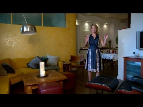 How to Arrange Furniture & a Recliner : Interior Design Tips