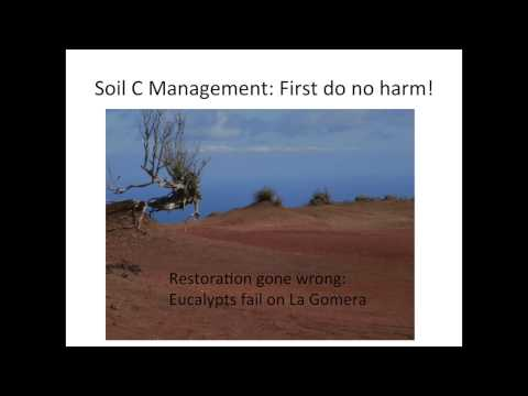 Thomas DeLuca - Managing Soil Carbon in Temperate & Boreal Ecosystems Part 1