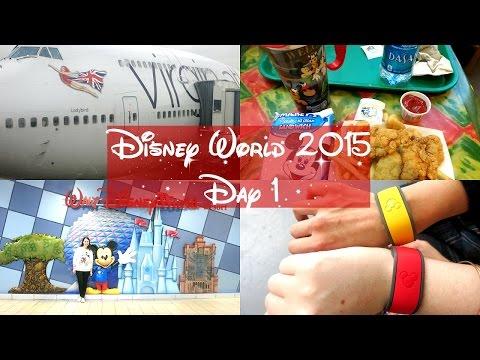 Disney World Vlogs 2015   Day 1