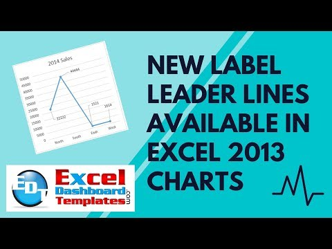New Label Leader Lines Available in Excel 2013 Charts