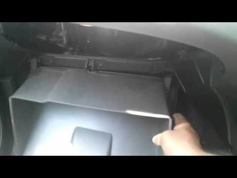 Cabin Air Filter Replacement Chevrolet Beat