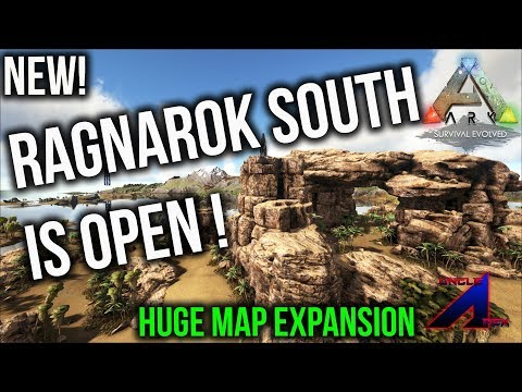 New south Ragnarok Map is open | ARK: Survival Evolved | Ragnarok showcase Ragnarok south