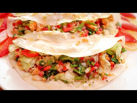 Mexican Tacos Recipe   How to make Mexican Tacos by SooperChef