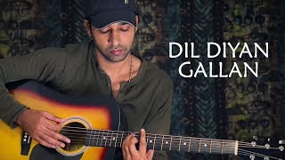 Dil Diyan Gallan - Lead Guitar - Learning Tips and short lesson By VEER KUMAR
