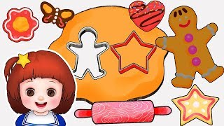 Baby Doli Cookie bread making play and baby doll kitchen toys play