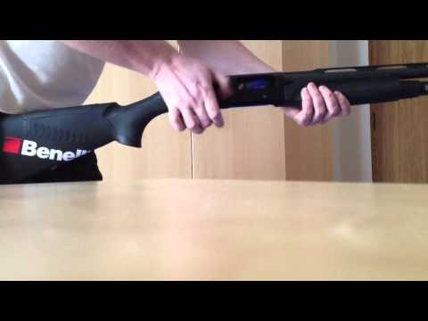unload benelli M2 with a +7 magazin extension