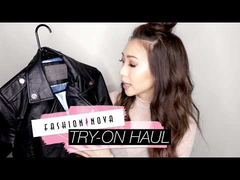 Fall/Winter Try-On Clothing Haul from FashionNova!