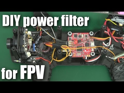 DIY FPV power filter for under $3