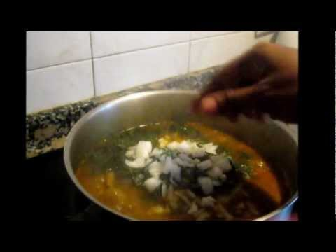 How to Cook Nigerian Ukazi Soup.wmv