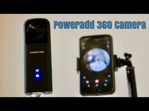 Poweradd | One Of The Cheapest 360 Camera You Can Buy Today