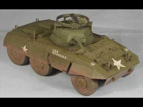 (Scale Model) Tamiya 1/48 M8 Greyhound US Armored Car