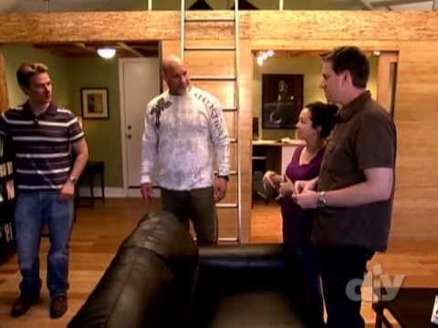 Garage Conversion / Garage into Living Space - A Garage Envy Makeover