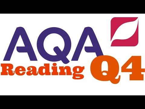 New AQA English Language 8700 Paper 1 Question 4 With Model Answer
