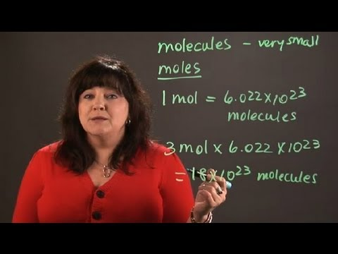 How to Calculate the Number of Molecules in Moles of Carbon... : Chemistry and Physics Calculations