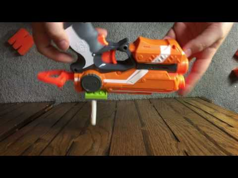 How To Make a Nerf Gun Tactical Rail Attachment Out Of Legos
