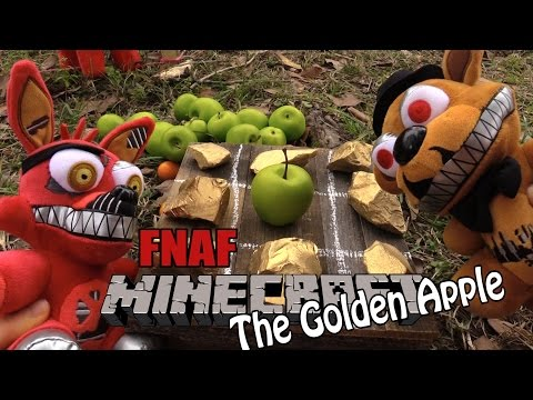 FNAF Minecraft plush 21-  The Golden Apple
