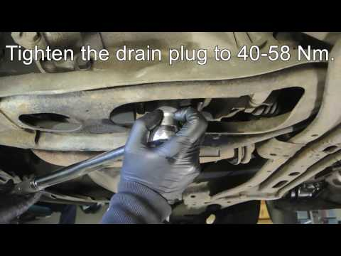 How to change manual transmission oil in Mazda 626 V