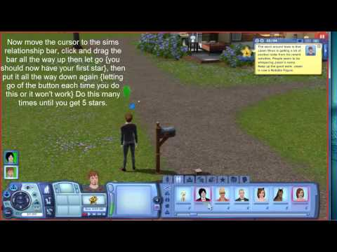 Five Star Celebrity Cheat For Sims 3 & High Relationship Point Cheat