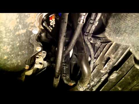 Changing engine oil and filter 2008-2010 VW Golf City 2.0