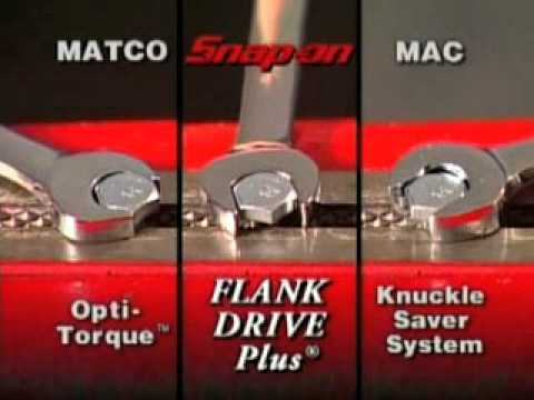 Snap-on UK Reversible Ratcheting Combination Wrenches