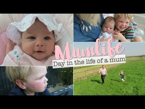 Day in the life of a Mum, Newborn & Crazy 3 Year Old with Slapped Cheek