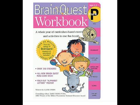 Brain Quest Work Book Pre-K