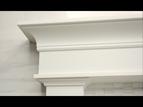 SUPER SIMPLE MANTEL!!!