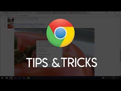Top 7 Rare Google Chrome Tips&Tricks to Save You Time