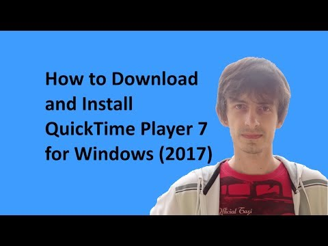 How to Download and Install QuickTime Player 7 for Windows (2017)
