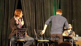 Jared e Jensen   Imitando Um o Outro TorCon 2016