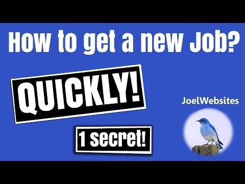 1 Easy Secret Tip to get a new Job Quickly.How to get a new Job?