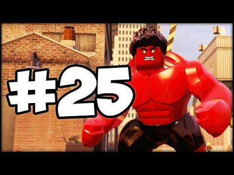 LEGO MARVEL AVENGERS - LBA - Episode 25 : Red HULK!