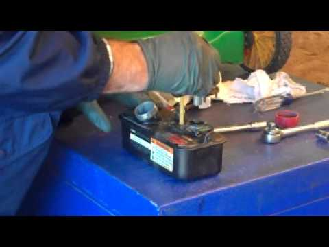 Water in your lawn mower gas tank