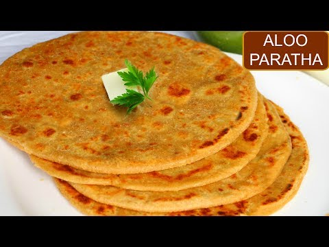 दिल्ली के मशहूर आलू पराठा   Aloo Paratha Recipe in Hindi   CookWithNisha