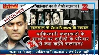 Salman Khan backs Pakistani actors, says artistes are not terrorists