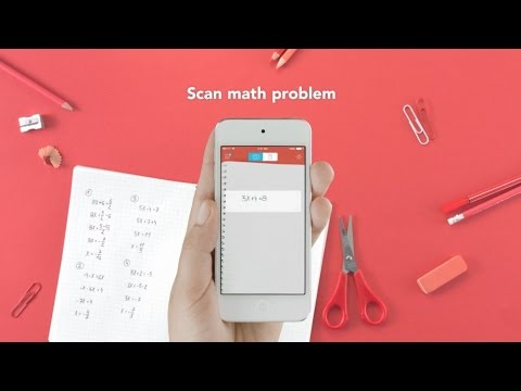 How to Solve Any Mathematics Questions With Your Phone's Camera - Photo Math Tutorial