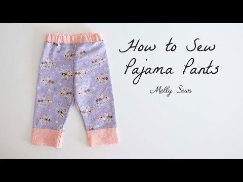 Sew Pajama Pants