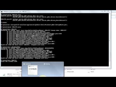 how to solve NoClassDefFoundError in java