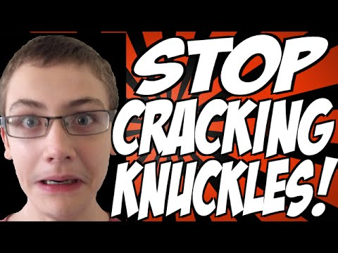 Why You Should Stop Cracking Your Knuckles!
