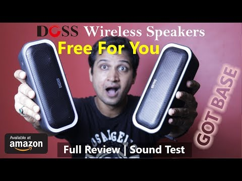 DOSS SoundBox Pro Wireless Bluetooth Speaker With Stereo Pairing | Full Review & Testing in Hindi