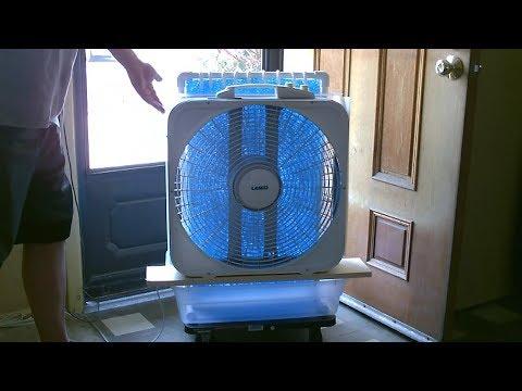 Large Area Evap. Air Cooler! - DIY AC Air Cooler! - Simple