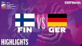 Finland vs. Germany | #IIHFWorlds 2019