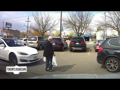 Tesla Model S has parking spot stolen