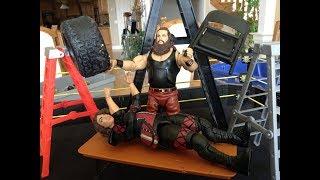 WWE Braun Strowman VS Nia Jax - BrettO Live Wrestling