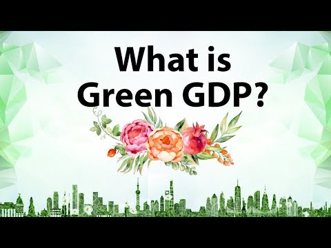 What is Green GDP - calculating Natural Capital for sustainable development - Current Affairs 2018