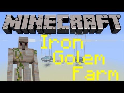Minecraft - Iron Golem Farm Tutorial [Minecraft 1.12 & Pocket Edition]