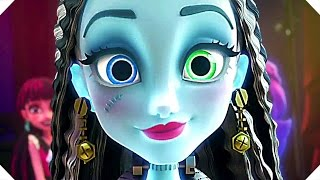 """MΟNSTER HIGH """"Electrified"""" - Movie TRAILER (Animation, 2017)"""