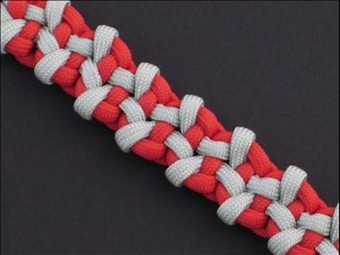 How to Make the Badlands Bar (Paracord) Bracelet by TIAT